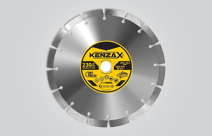 تیغ گرانیت بر 230 میلی متر KENZAXکنزاکس SHARK KDS-2230