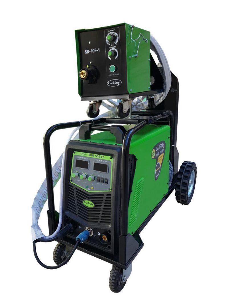 دستگاه جوش اينورتر ميگ مگ و الكترود   MIG500IT(AIRCOOL)