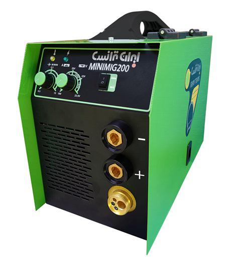 دستگاه جوش اينورتر ميگ مگ و الكترود  MINIMIG200
